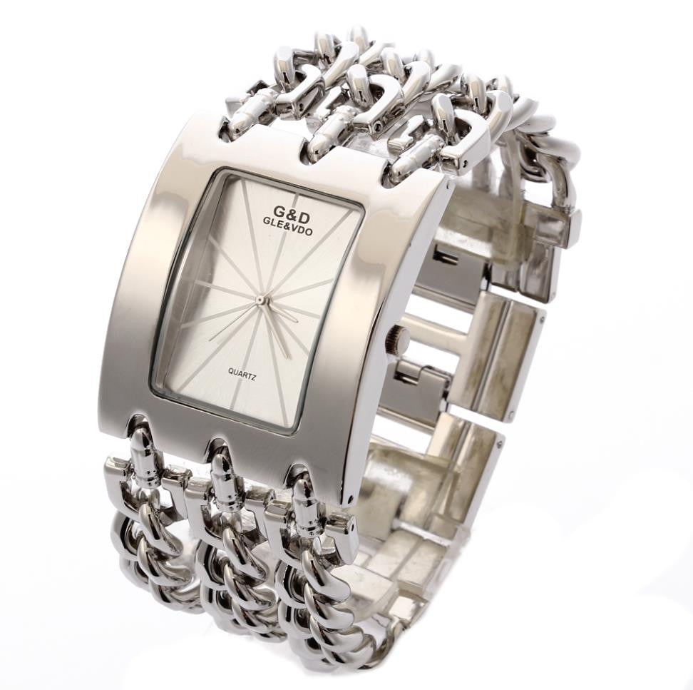 G&d Gle&vdo Quartz Stainless Steel Quartz Wristwatches Women A028