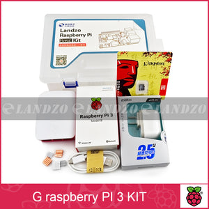 G Raspberry Pi 3 Model B starter kit - pi 3 board pi 3 case American standard power supply 16 G memory card heat sink