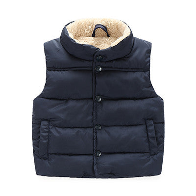 Girl Vests Jacket Children's Clothing Kids Waistcoat Children Waistcoats Casual Baby Child Girls Vest Kid Turn-down Collar vest
