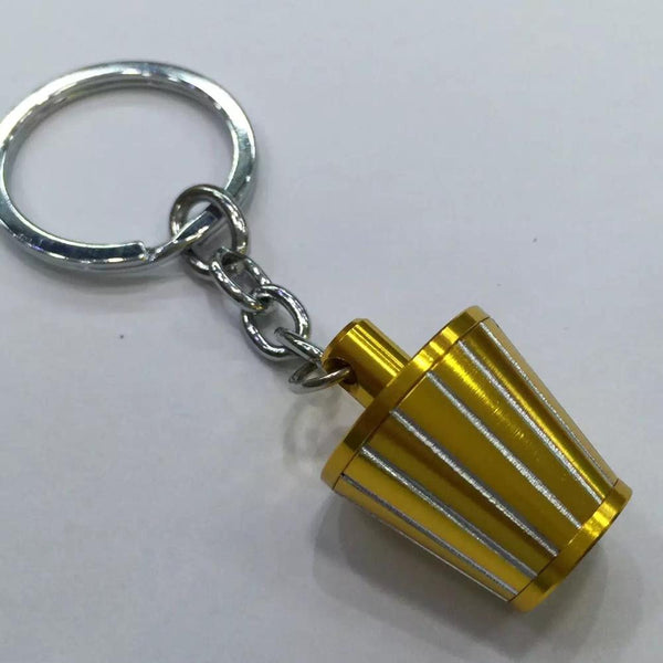HB 1pcs Ace Speed-New Aluminum Cold Air Intake Filter Key Chain Lovely Keychain Key Ring 6 Colors JDM Style Nos