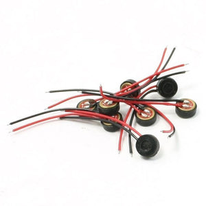 HFES 10pcs Electret Condenser MIC 4mm x 2mm for PC Phone MP3 MP4