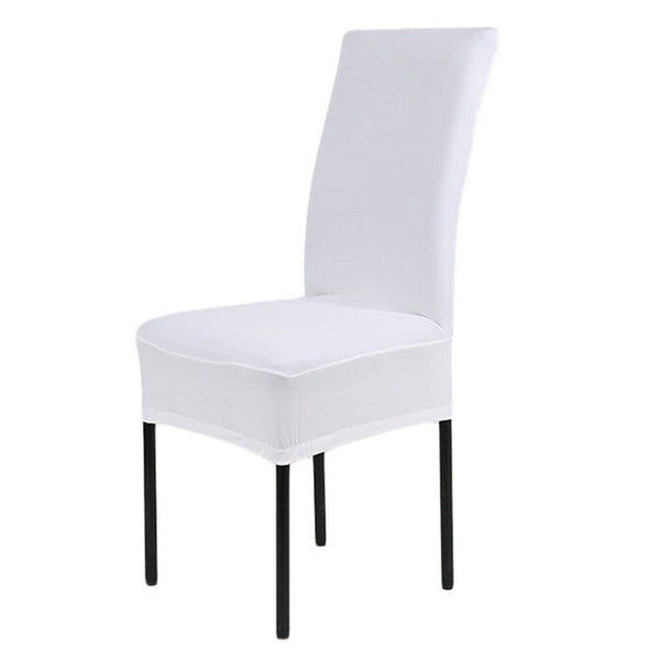 Home Chair Cover wedding decoration Solid Colors Polyester Spandex Dining Chair Covers For Wedding Party universal sizes New