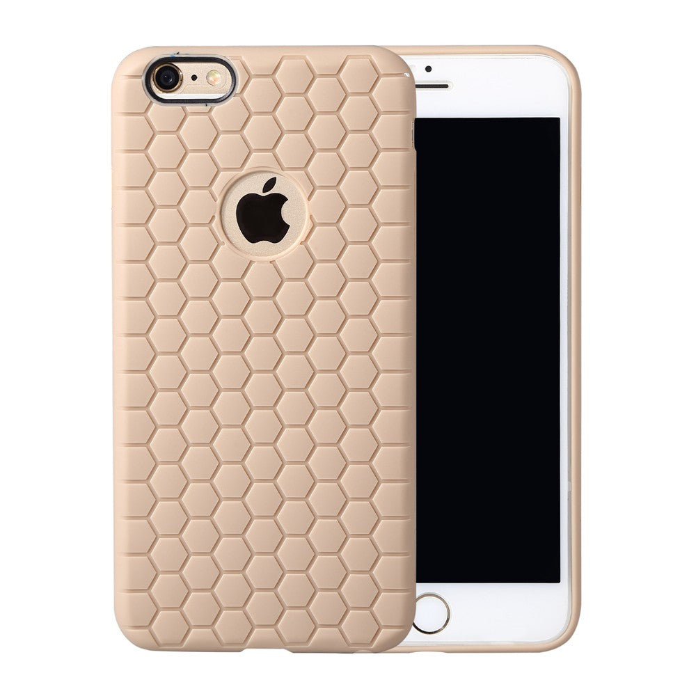 Honeycomb Pattern Candy Color Case for Apple iPhone 6 6S 4.7 inch TPU Soft Back Phone Case Cover for iPhone 6S