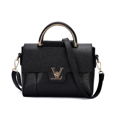 Dizhige Lock Solid Pu Handbags Women Yz0015