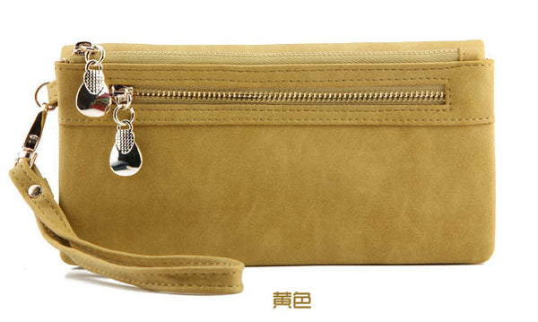 Ru&br Solid Pu Wallet Women Ww00177
