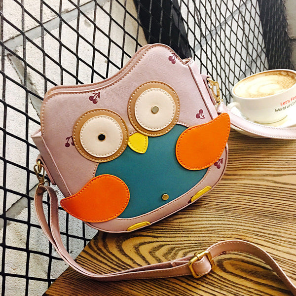 Inleela Rivet Character Pu Handbags Women