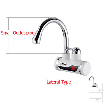 Instant Tankless Electric hot Water Heater Faucet Kitchen Instant Heating tap Water heater with LED EU plug