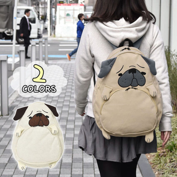 Week Seven Embroidery Solid Cotton Fabric Backpacks Women B33851