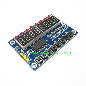 Key Display For AVR New 8-Bit Digital LED Tube 8-Bit TM1638 Module