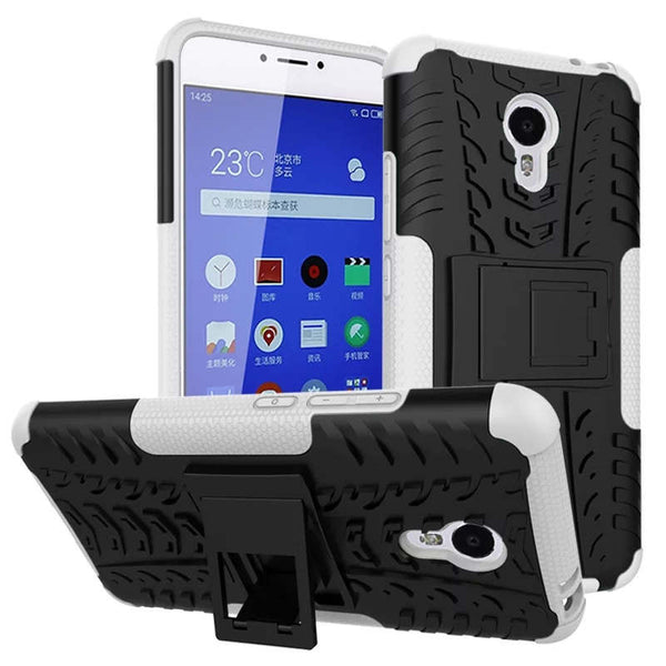 "[Long Steven] For Meizu m3 note Case Unique Non-Slip Armor Case Protective Rugged Holder Stand For Meizu m 3 note 5.5""inch Funda"