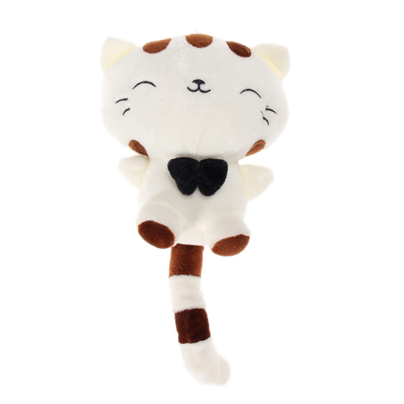 Lovely Children Gift Plush Stuffed Toy Cute Fortune Cat Cushion 30 45 60cm PTSP