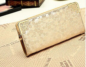 Qxmingjia Solid Pu Wallet Women W0029