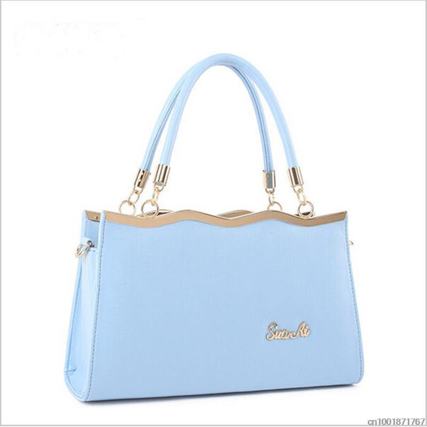Bolish Bow Solid Pu Handbags Women 03