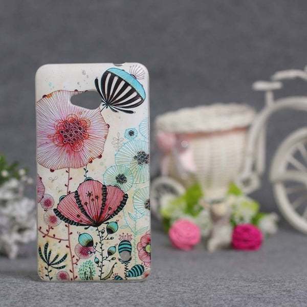 Luxury Pattern Soft TPU Case For Microsoft Nokia Lumia 640 N640 Back Protect Skin Phone Silicone Gel Case Cover for Lumia 640