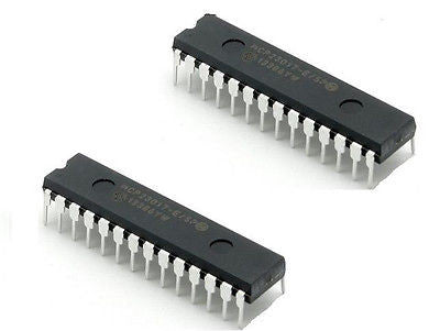 MCP23017-E SP MCP23017 DIP28 16-Bit I O Expander with I2C Interface IC NEW