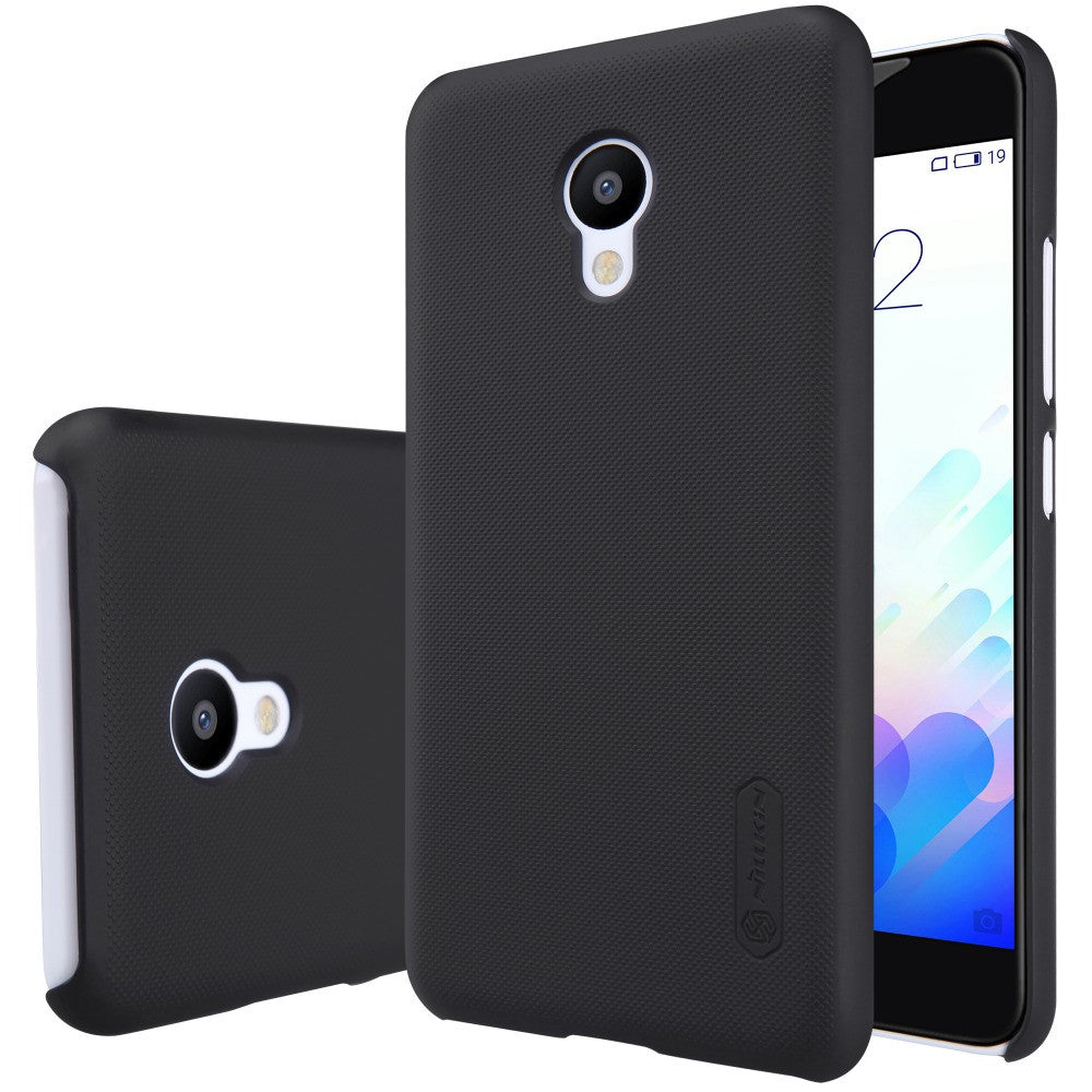 Meizu MX6 case cover NILLKIN Super Frosted Shield matte hard back cover case for Meizu MX6 with free screen protector
