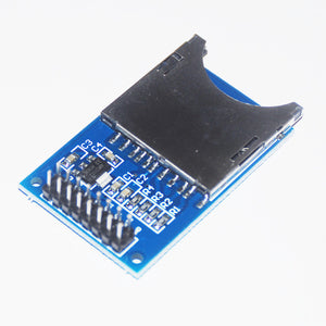 Memory SD Card Module Slot In Socket Reader Storage Card Shield SPI for Arduino ARM MCU Read Write Writing 5V 3.3V Board Panel