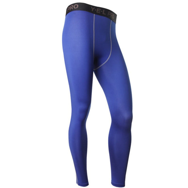 Men's Compression Athletic Pants Running Training Base Layers Skin Sports Tights LKT