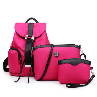 Dizhige Belts Solid Nylon Backpacks Women Tmy2800-38zbl