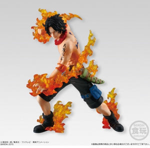NEW hot 14-17cm One piece Flame three brothers luffy ace Sabo action figure toys Christmas toy