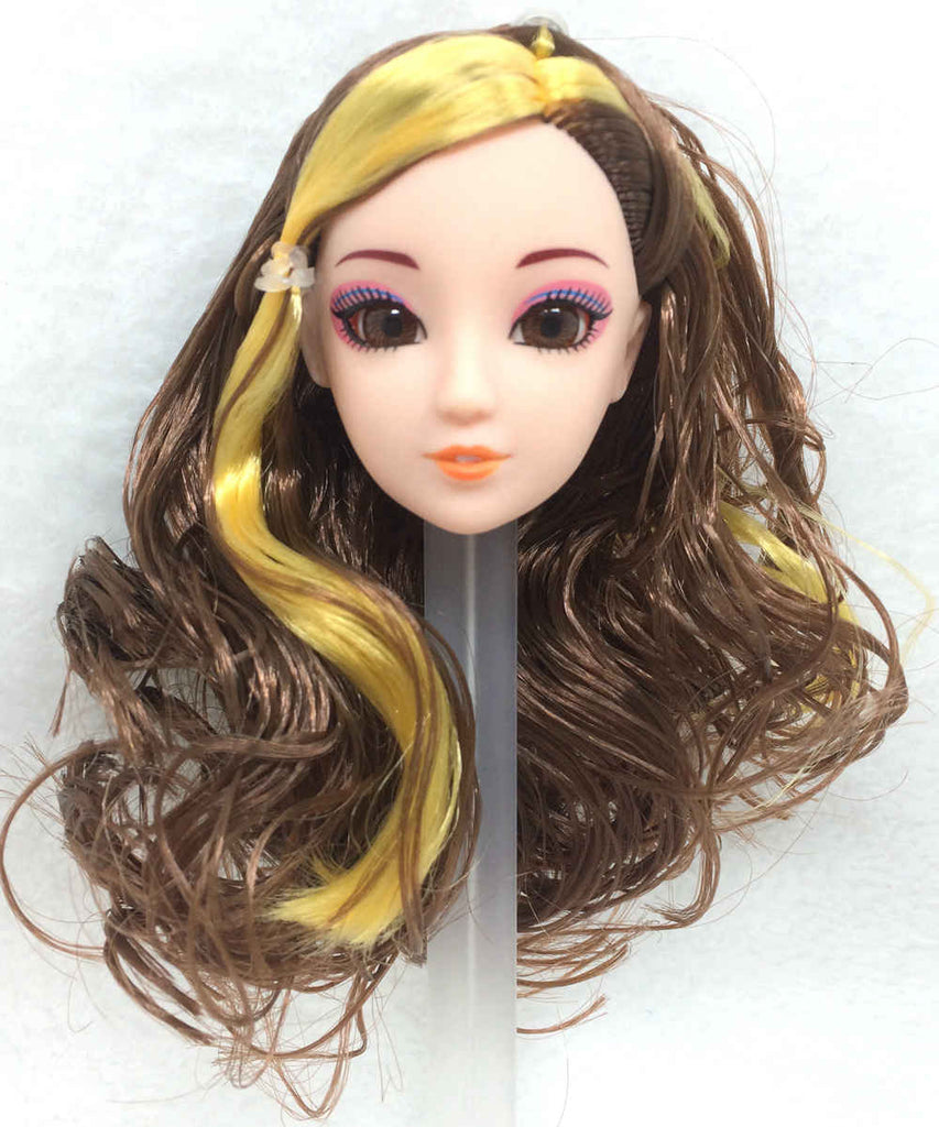 NK Fashion Doll Head DIY Accessories 12 Jointed Movable
