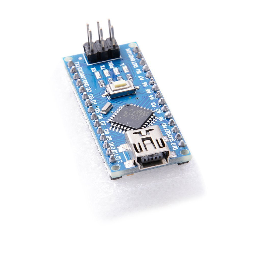 Nano 3.0 controller compatible with nano CH340 USB driver for Arduino NANO V3.0 without usb cable