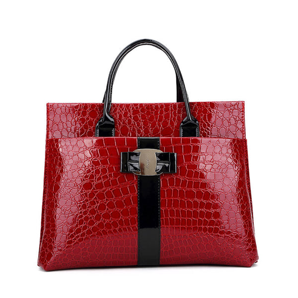 Xperia Alligator Pu Handbags Women Rhnwb0311