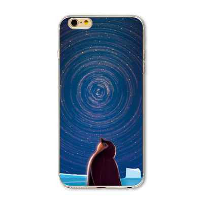 New Arrival Universe Outer Space Star Beautiful Girl Painted Phone Cases For iphone 5 5s 6 6s 6 plus 6s Plus Soft Back Capa Case