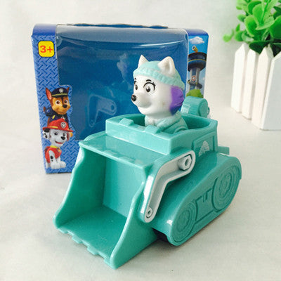 New Car Tracker Toys Puppy Patrol dog Patrulla Canina Action figures Patrulla Canine Skye Anime Vehicle Car Spain for kids gift