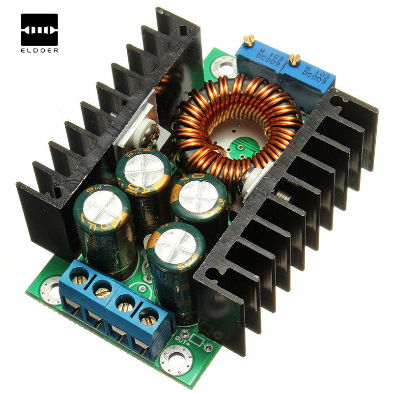 New DIY Electric Unit High quality C-D C CC CV Buck Converter Step-down Power Module 7-32V to 0.8-28V 12A 300W