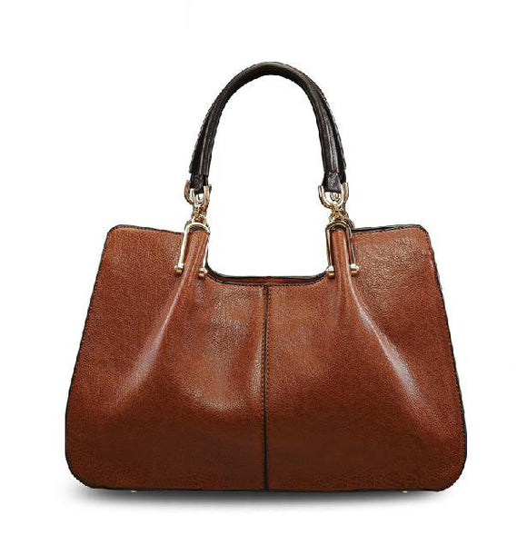 Redberry Solid Genuine Leather Handbags Women A0658
