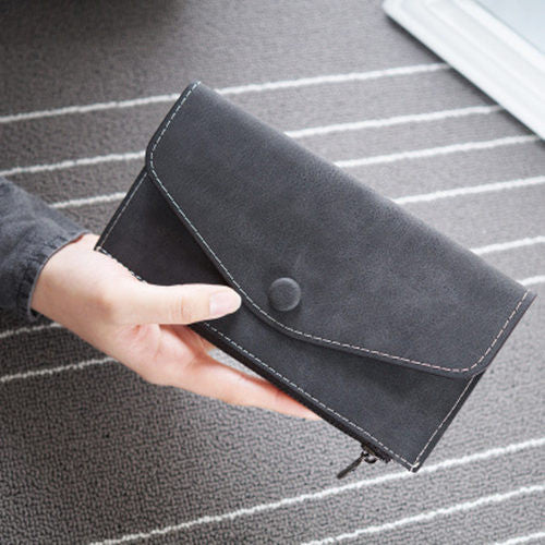 Bolish Solid Pu Wallet Women 3006