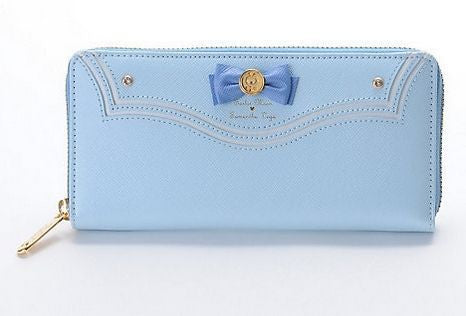 New Samantha Vega Sailor Moon Wallet 20th Anniversary Limited Edition Ladies Long Zipper Female Bag Women Leather Wallet Purse