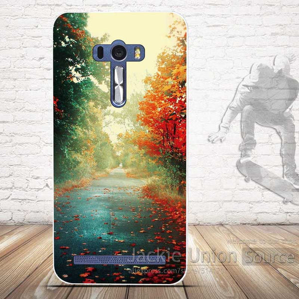 New Soft Silicon Case for Asus Zenfone Selfie ZD551KL 3D Relief Printing Back Cover for Fundas Asus ZD551KL Zenfone Selfie Case