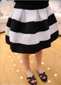 New Striped girl Skirts Baby Clothing Ball gown Children Clothing Autumn Winter Woolen knited Tutu Pettiskirts