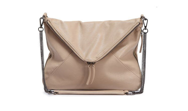 Sendefn Chains Solid Pu Handbags Women