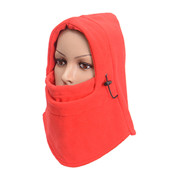 New Winter Outdoor Windproof Hat Multifunctional 6in1 Thermal Fleece Balaclava Hood Police Swat Ski Bike Cycling Caps