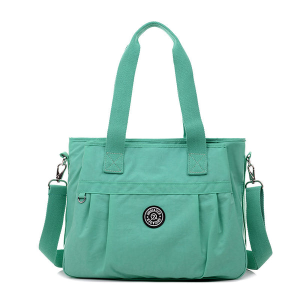 Jinqiaoer Solid Nylon Handbags Women Am2012en