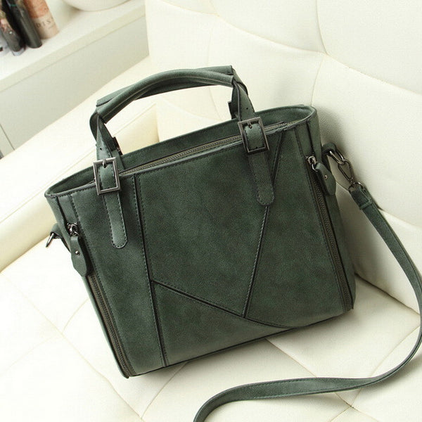 Miwind Patchwork Pu Handbags Women Wlhb936