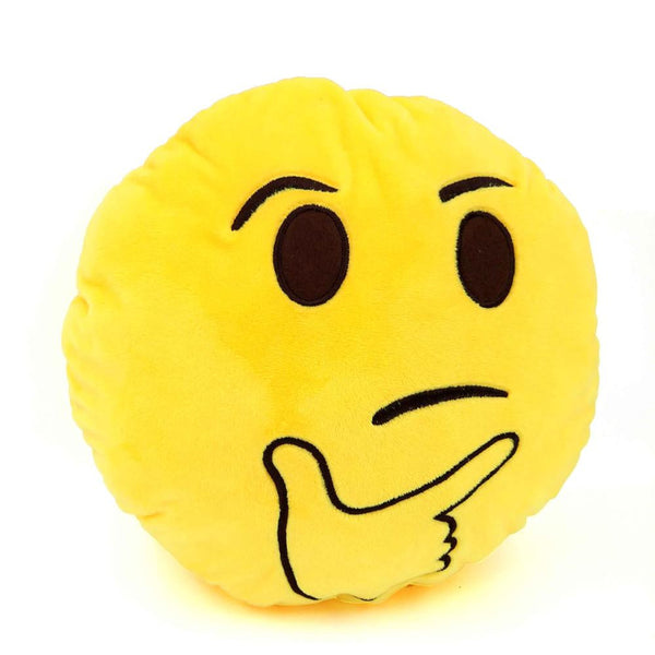 New funny Smiley face pillow emoji decorative pillows yellow emoticon pillows toy almofada coussin emoji cojines cushion