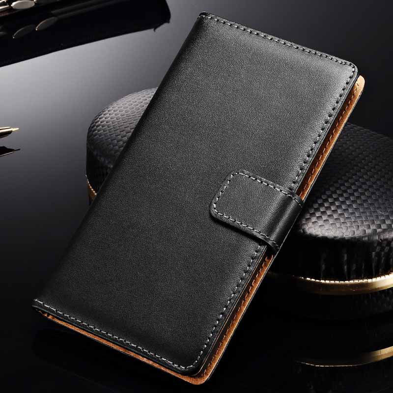 P8 Lite Genuine Leather Case For Huawei Ascend P8 P8 Lite P8 mini Luxury Wallet Card Holder Vintage Flip Stand Cases Cover