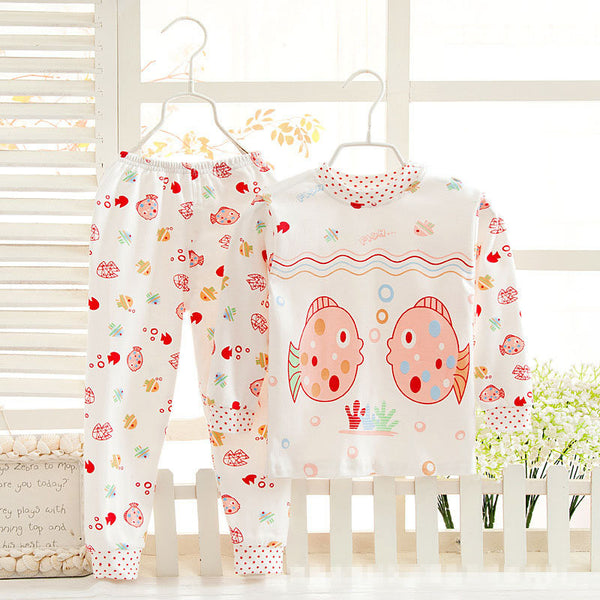 Pajamas Kids Pyjamas Boys Children's Sleepwear 5 kinds of colors Combed cotton Cute cartoon free shipping girls pajamas #