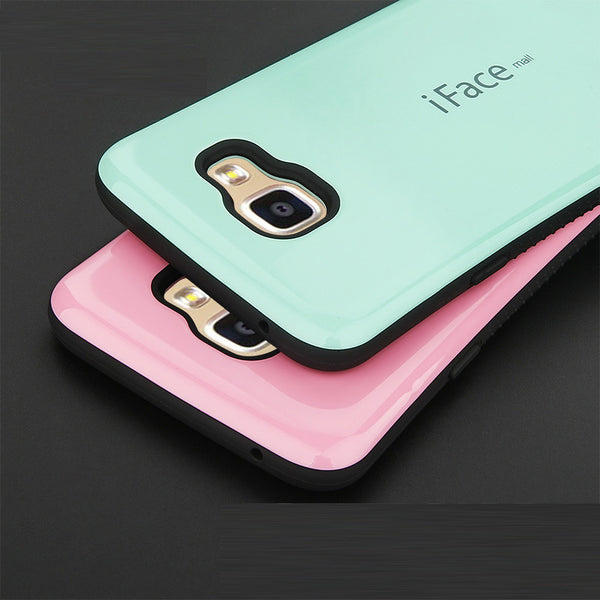 Phone Cases For Samsung J5 J7 2016 TPU Shockproof Case For Samsung Galaxy A3 A5 A7 2016 S6 S7 Edge Silicone Rubber Back Cover