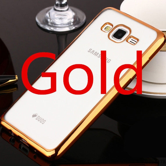 Plating Phone Cases For Samsung Galaxy S3 S4 S5 S6 S7 Edge Plus A3 A5 A7 2016 J1 J5 J7 2015 G530H Cover Soft TPU Protective Case