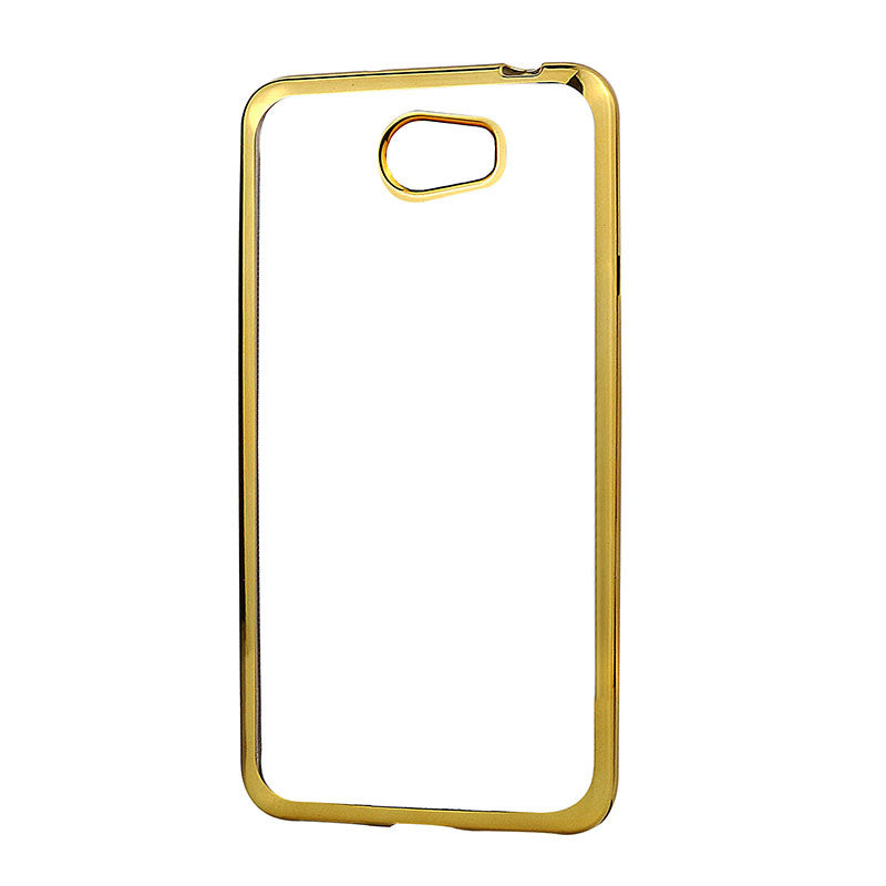 Plating Soft TPU Case For Huawei Y5 2 Y5 II Y5II Luxury Soft TPU Case For Huawei Y6 II Mini Y6 II Compact Phone Back Cover Case