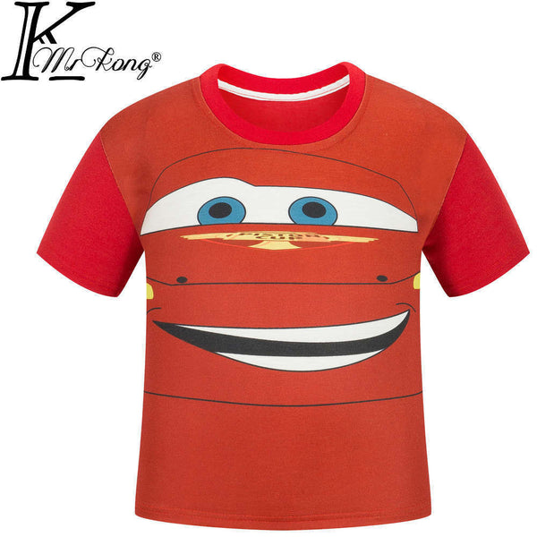 Pokemon Go Boys t Shirt Five Nights At Freddy FNAF Children t-shirt Fireman Sam kids tshirt Star War kids Tops short sleeve Tees