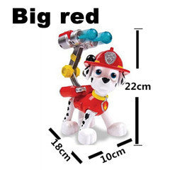 Pop Russian Kids Toys Juguetes Patrulla Canina Marshall Puppy Patrol Chase For Girls Boy Pat Patrouille Anime Action Figure MU8