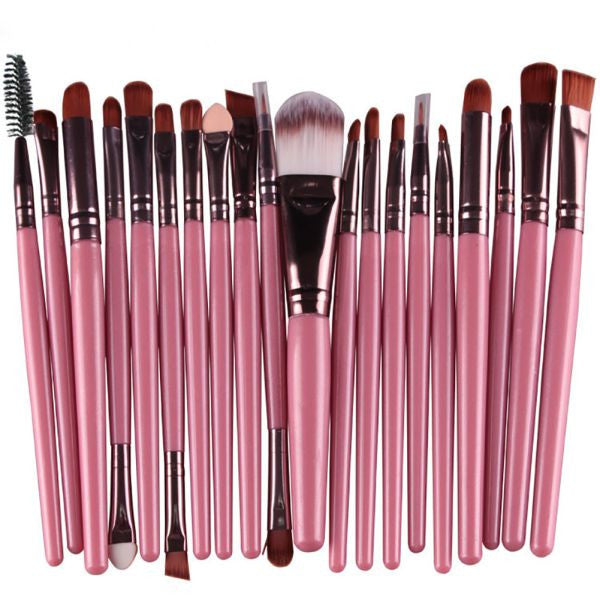 Professional Soft Cosmetics Beauty Make up Brushes Set Kabuki Kit Tools maquiagem Makeup Brushes