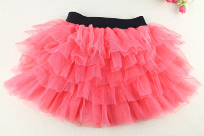 Rushed Ribbons New Arrival Girls Tutu Skirts Kids Baby Fashion Skirt Childrens Pettiskirt Ballet For Girl Free Shipping