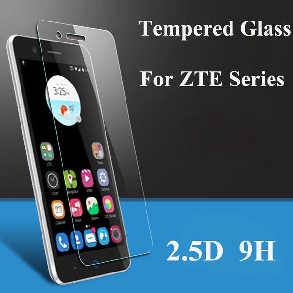 Screen Protector Tempered Glass For ZTE Blade X3 X5 X7 X9 L2 L3 S6 Plus A452 A475 A460 V6 D6 Explosion Proof Film